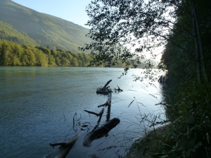 River Skagit at dusk